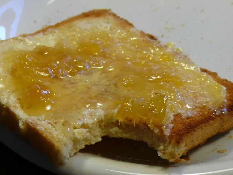 Bäcker Süpkes Toastbrot, getoastet