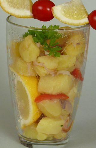 Marokkanische Kartoffeln mit Zitrone