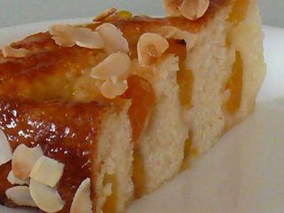 Aprikosen-Rosenkuchen, Stück