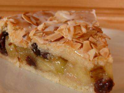 Gedeckter Apfelkuchen (M), Stück