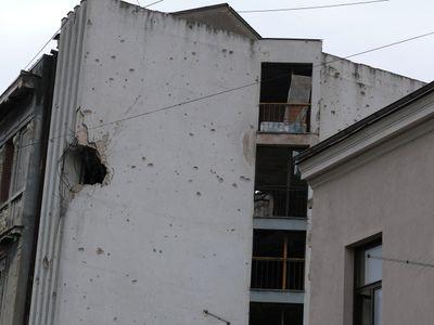 Mostar - Granateinschläge