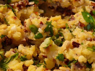 Mediterraner Kartoffelstampf