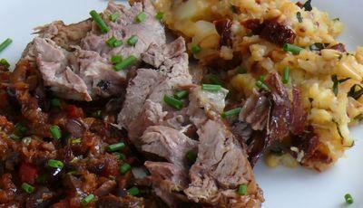 24-Stunden-Kalbshaxe mit mediterranem Kartoffelstampf und mediterranem Gemüse_bearbeitet-1