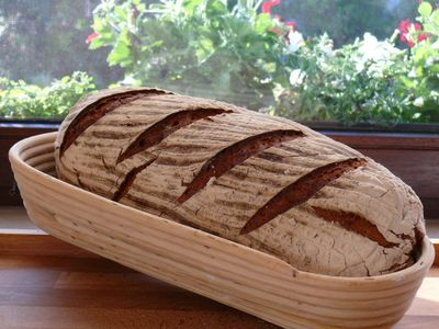 Bäcker Süpkes Konsumbrot, Laib