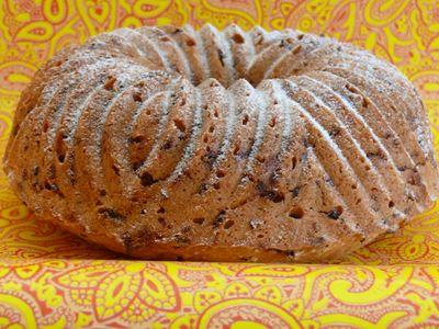 Marzipan-Schoko-Kuchen, komplett