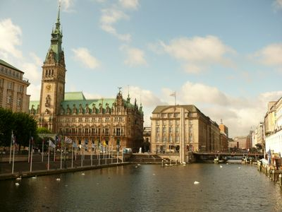 HH Blick aufs Rathaus