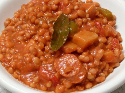 Crockpot - Serbische Bohnensuppe, feddisch