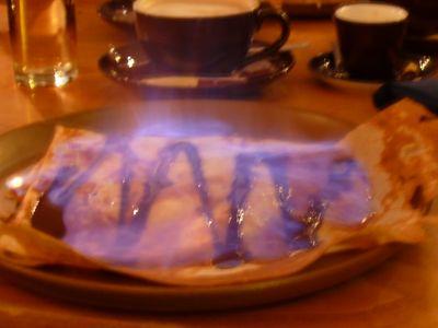 HH - Crêpe flambiert