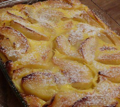 Ofenpfannkuchen, gebacken