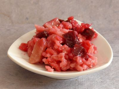 Rote-Bete-Risotto, Totale