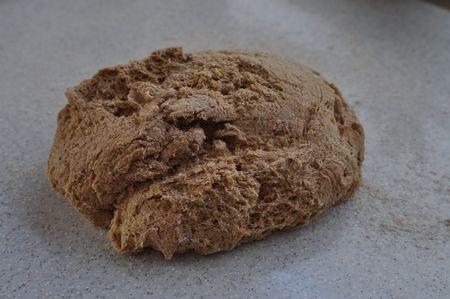 Pan de cebada Teig