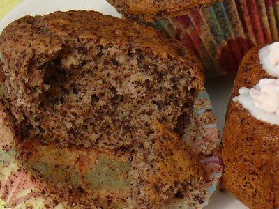 Schokoladenmuffin, Anbiss
