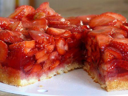 Erdbeeren - als Torte