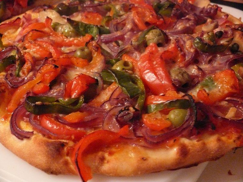 Pizza Home Made vegetarisch