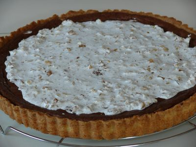 Walnuss-Tarte en detail