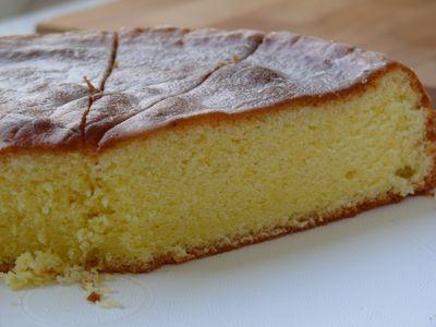 Lemon Chiffon Cake (M)