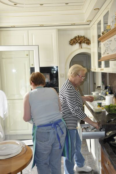 Frühstück bei Ma und Pa