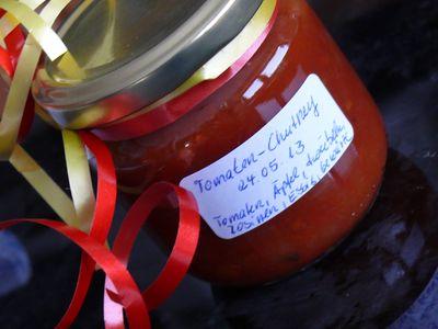 Tomatenchutney und Lammbratwurst-1