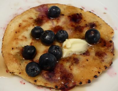 Todd's Famous Blueberry Pancake1
