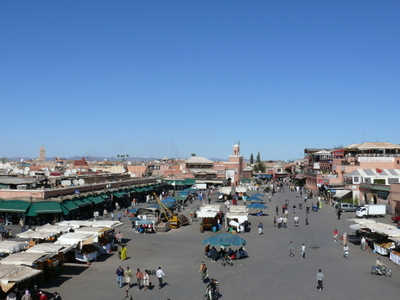 Marokko_jemaa_el_fna_verwaist
